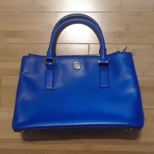 Tory Burch blue purse